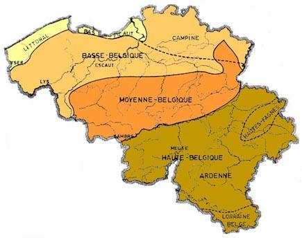 Carte Belgique Communautes Et Regions.Meteo En Belgique Cartes Du Climat De La Belgique Complements D